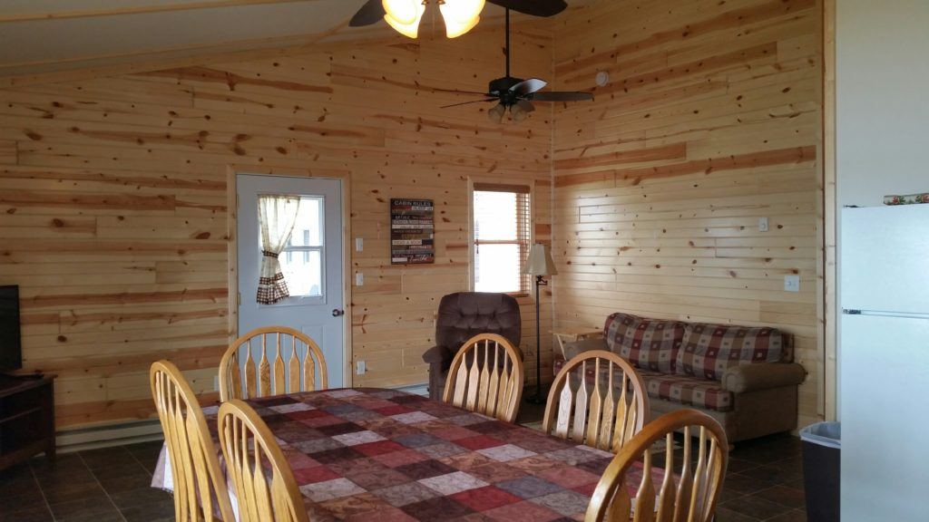 LIVING ROOM AND KITCHEN CABIN 8